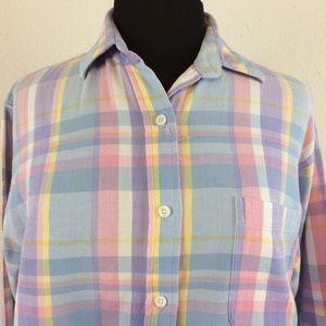 60f607615bd03 High Profile Sport Women's Pastel Plaid Shirt